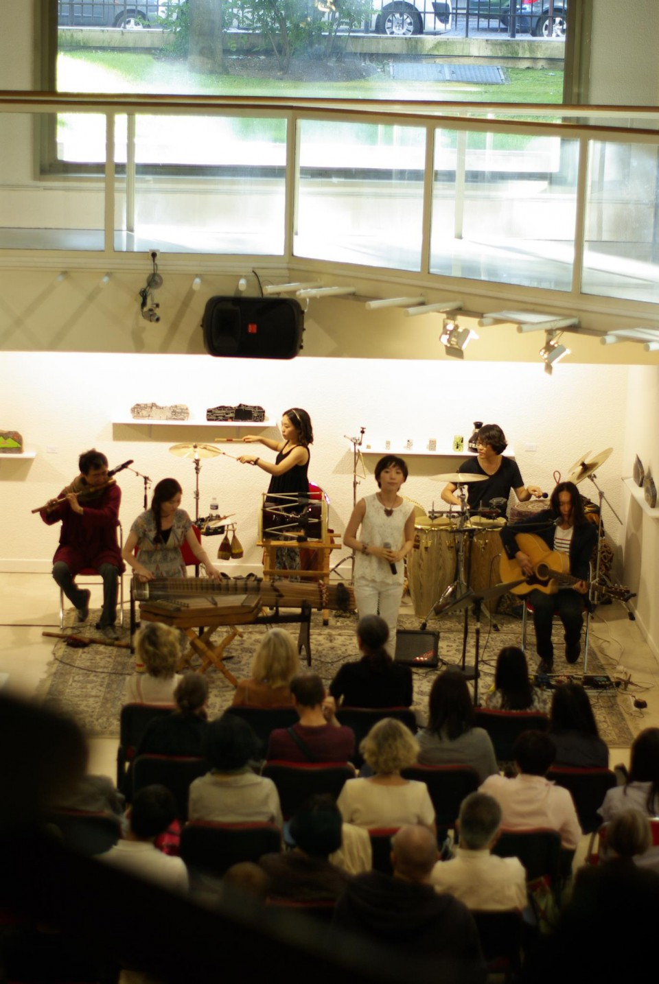 Coreyah au Centre Culturel Coréen