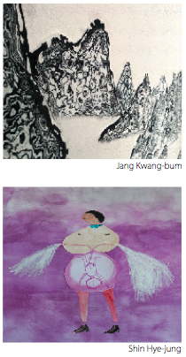 exposition de Shin Hye-Jung et Jang Kwang-bum