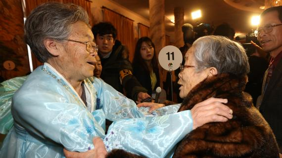 Rencontre Nord et Sud Coréens