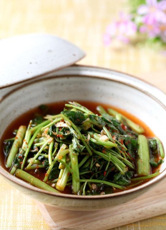 Kimchi à la coriandre