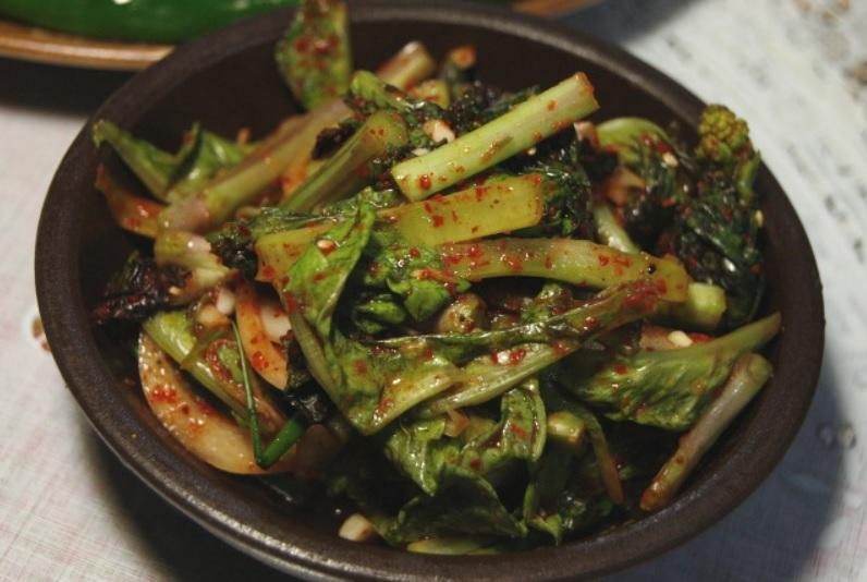 Kimchi à la laitue