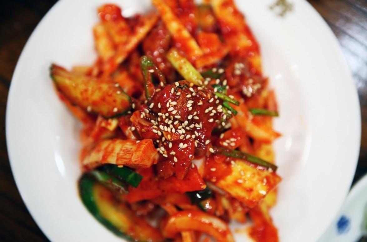 Kimchi à la racine de bambou