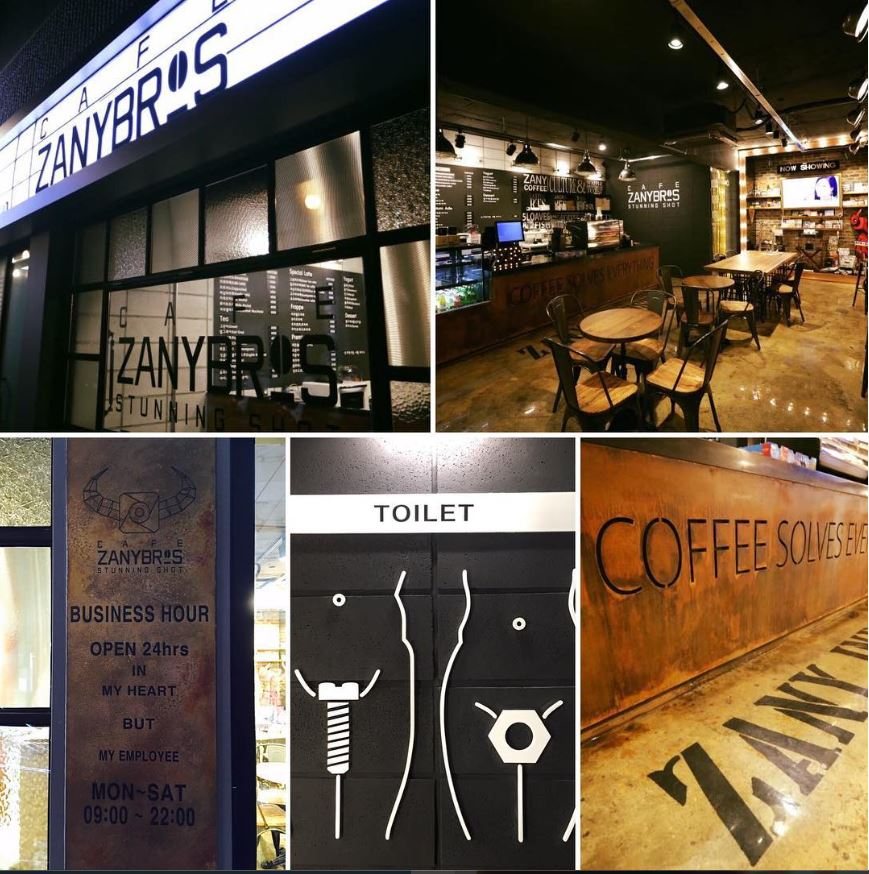 Instagram Zanybros Cafe